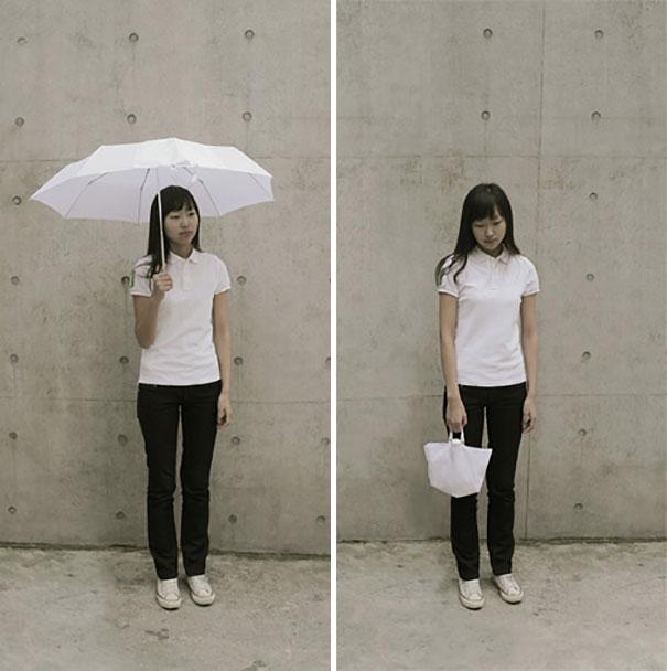 İçi-Dışı Farklı Şemsiye