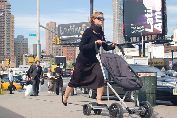 Hibrid Bebek Arabası ve Scooter 2