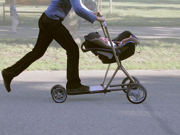 Hibrid Bebek Arabası ve Scooter