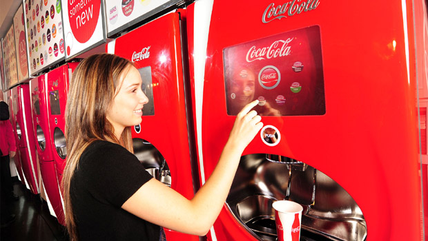 Coca-Cola Freestyle(TM), the innovative, award-winning 'fountain of the future' unveiled today in Toronto gives consumers more than 100 beverage options at the touch of a button. (CNW Group/Coca-Cola Canada)