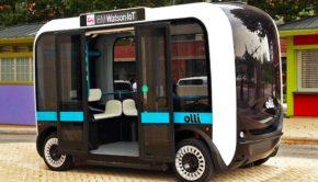 3 Boyutlu Baskıyla Üretilen, Sürücüsüz Otobüs