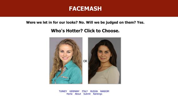 face-mash